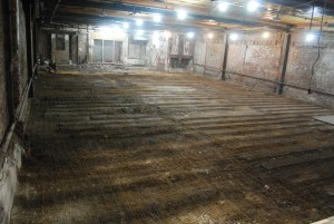 Floor after demo