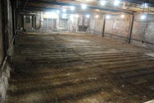 Floor after demo