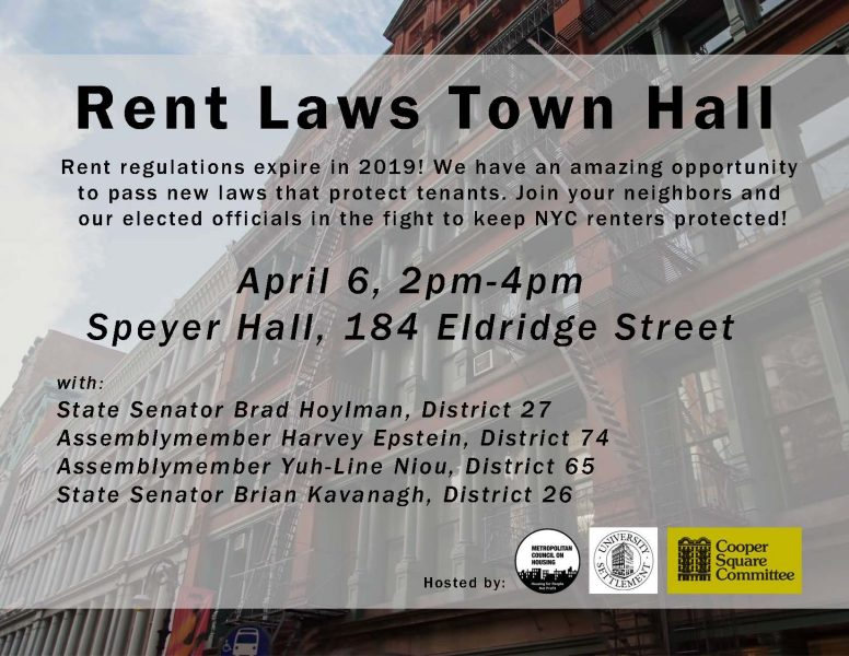 News and Events | Cooper Square Committee